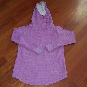 Mossimo target cowl hood sweatshirt tunic pockets